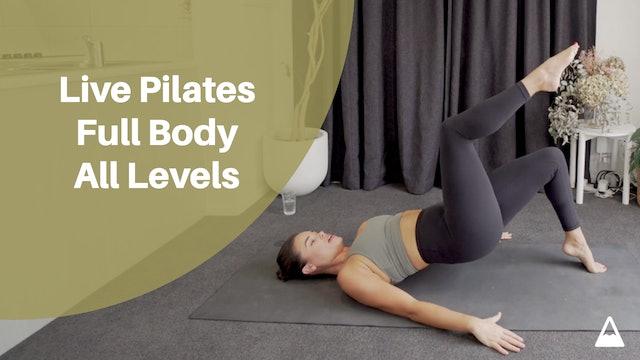 Live Pilates Full Body All Levels