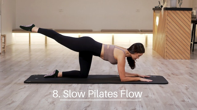 8. Slow Pilates Flow
