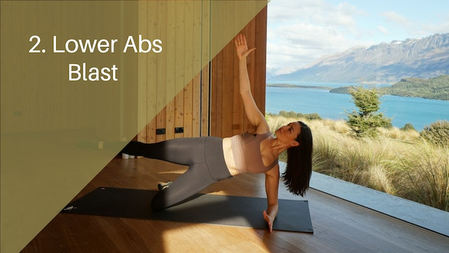 2. Lower Abs blast