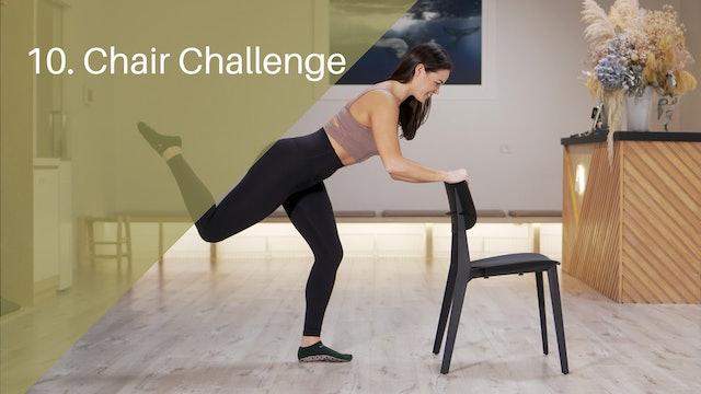 10. Chair Challenge