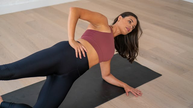 Power Pilates with Stretch to finish