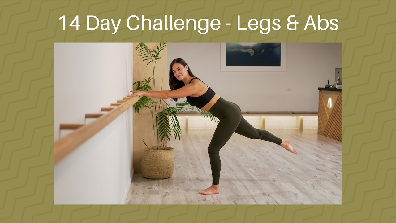 14 Day Legs & Abs Challenge