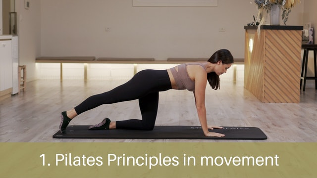 1. Pilates principles in movement