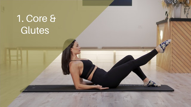 1. Core and Glutes