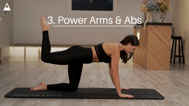 3. Power Arms & Abs