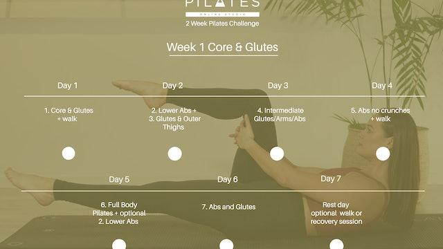 Week One Calendar