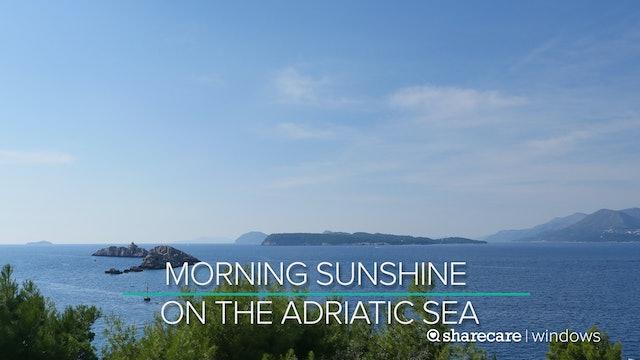 Morning Sunshine on the Adriatic Sea