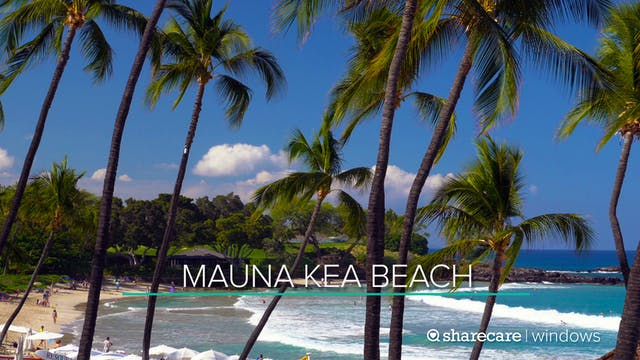 30 Minutes at Mauna Kea Beach