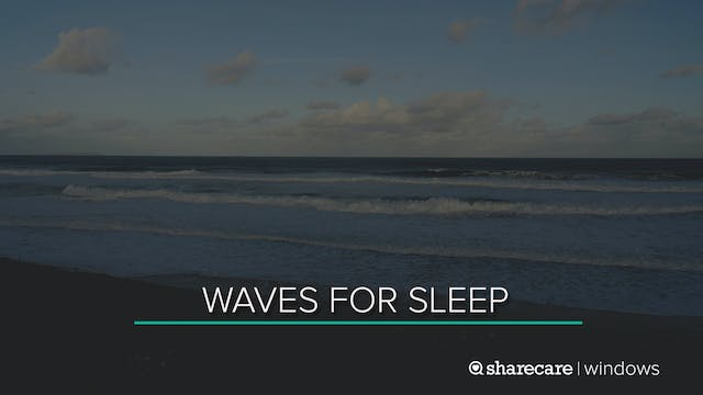 8 Hours of Waves for Sleep (Ultra Low...