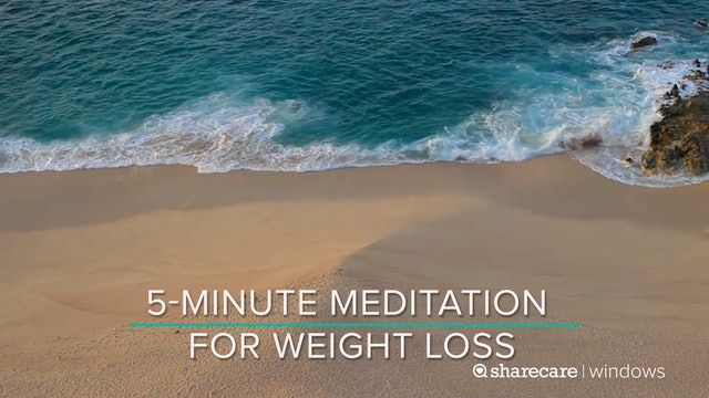 5-Minute Meditation for Weight Loss
