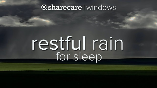 Restful Rain On Leaves 3 hours