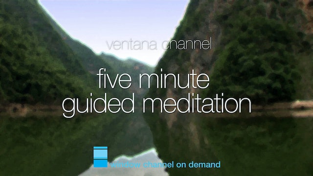Five Minute Guided Meditation