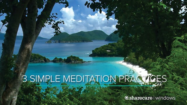 9-Minute Yoga: 3 Simple Meditation Pr...