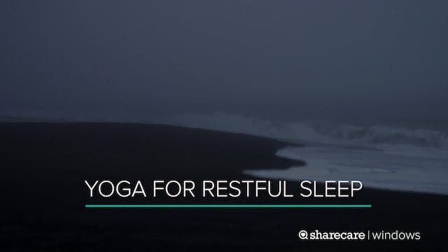 12 Minutes of Yoga for Restful Sleep