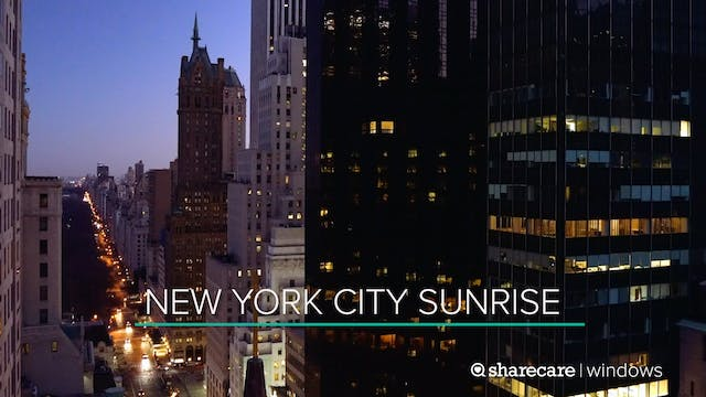 30 Minutes of New York City Sunrise
