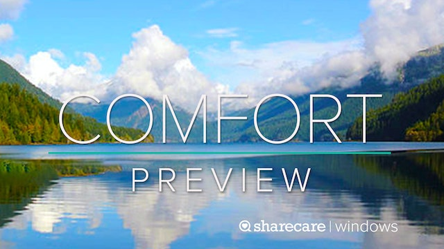 """Comfort Preview: """"Yoga for Breath Awareness"""""""