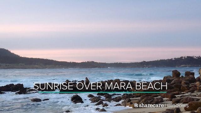 Sunrise Over Mara Beach