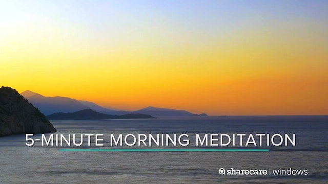 5-Minute Morning Meditation