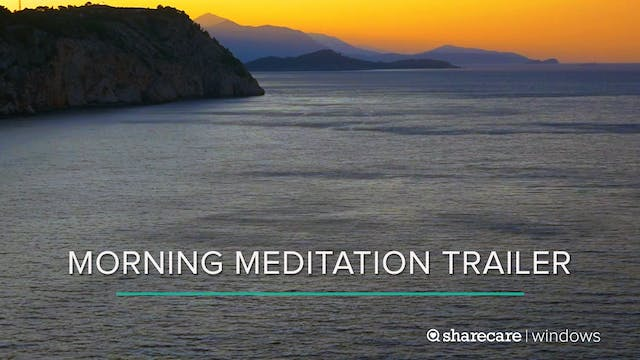 One-Minute Morning Meditation