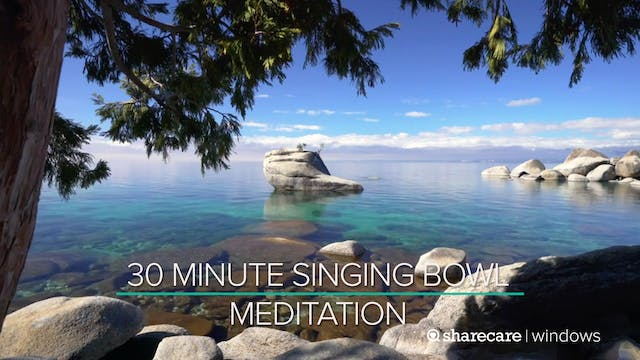 30 Minute Singing Bowl Meditation
