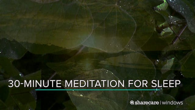 30-Minute Meditation for Sleep