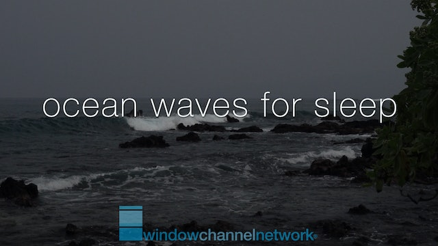 Ocean Waves for Sleep and Meditation  9 hours