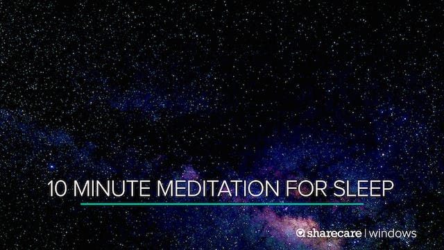 10 Minute Meditation for Sleep