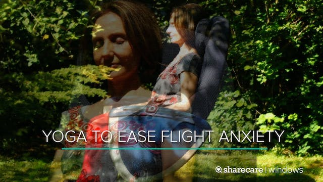13-Minute Yoga to Ease Flight Anxiety