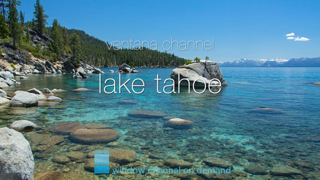 Lake Tahoe natural relaxation