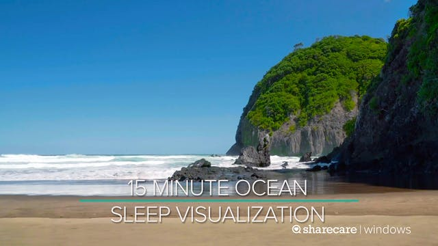 15 Minute Ocean Sleep Visualization