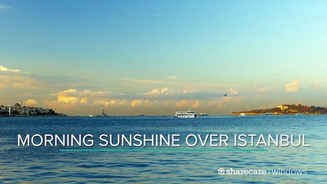 Morning Sunshine Over Istanbul