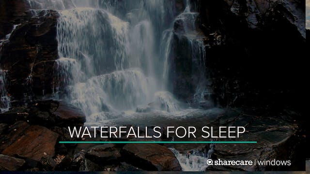 8 Hours of Waterfalls for Sleep (Ultr...