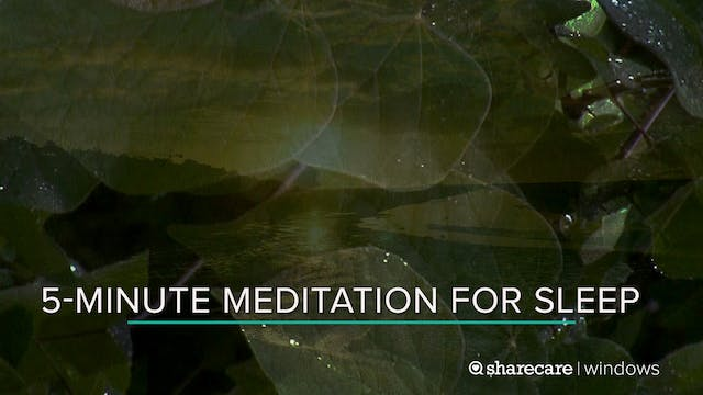 5-Minute Meditation for Sleep