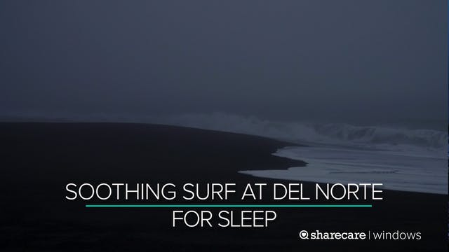 10 Hours of Soothing Surf at Del Nort...