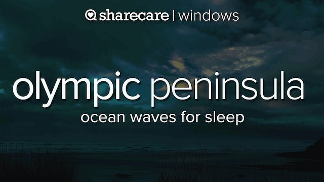 Olympic Peninsula Ocean Waves for Sleep