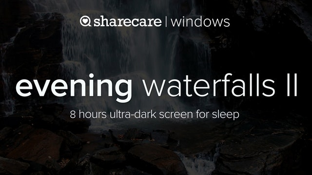 Evening Waterfalls II