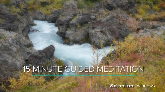 15-Minute Guided Meditation