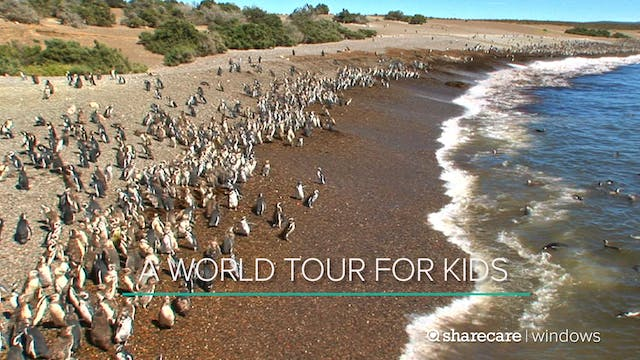 A One-Hour World Tour for Kids