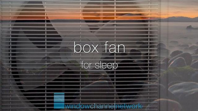 Box Fan for sleep 9 hours