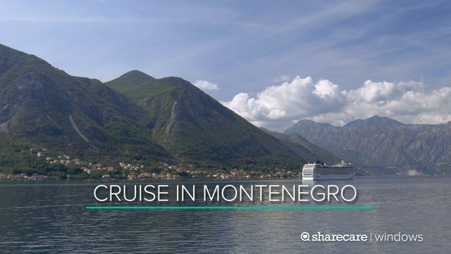 Cruise Ship In Montenegro