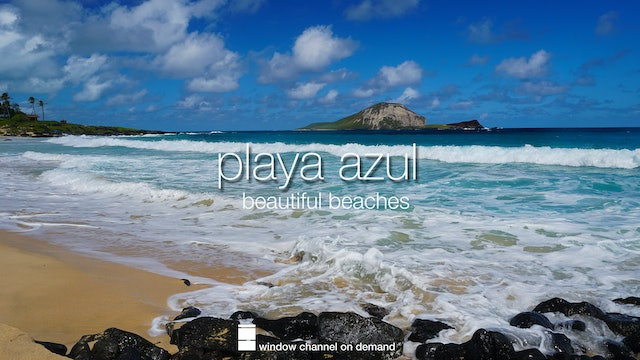 Playa Azul beautiful beaches from around the world