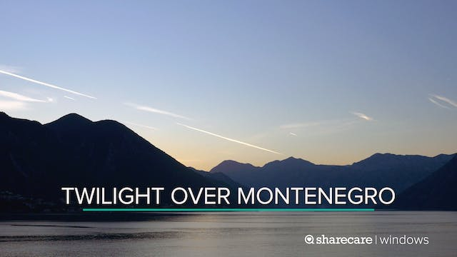 Twilight Over Montenegro