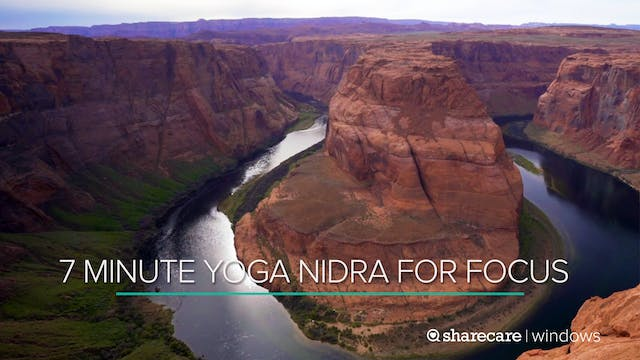 7 Minute Yoga Nidra for Focus