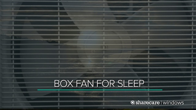9 Hours of Box Fan for Sleep (Ultra Low Light)