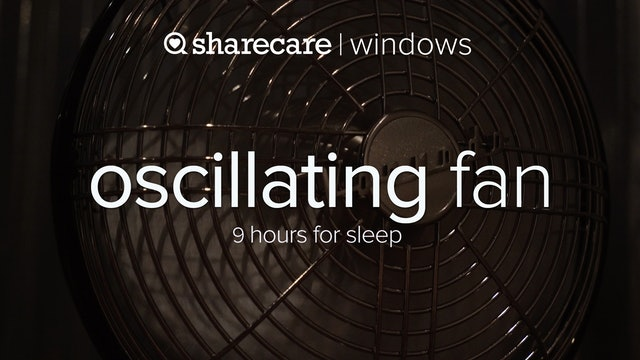 Oscillating Fan For Sleep