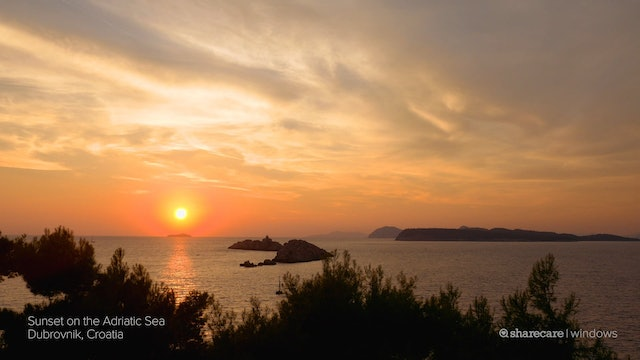 Breathtaking Sunset Over the Adriatic Sea PREVIEW