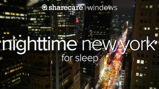 Nighttime NY Sleep for the City the Never Sleeps
