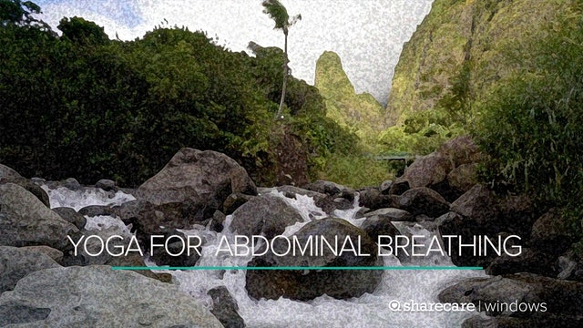 5-Minute Yoga: Abdominal Breathing