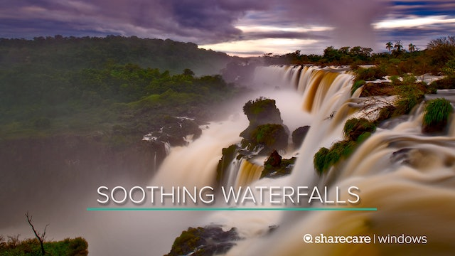 One Hour of Soothing Waterfalls