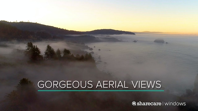 One Hour of Gorgeous Aerial Views